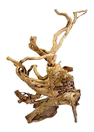 REPTILES PLANET Racine avec branches sablée pour terrarium reptiles 40-50 cm Taille L - Modèle aléatoire REPU5