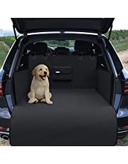 Hundedecke Auto Autoschondecke für Rückbank / Kofferraum Taschen Transportbeutel – Hunde Autoschutz Kofferraumschutz Seitenschutz wasserdicht waschbar | Schutzdecke Schutz Decke weich rutschfest