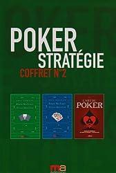 Poker Stratégie Coffret n°2 : L'art du poker ; Poker no-limit Texas Hold'em, leçons et techniques avancées ; Poker no-limit Texas Hold'em, pratique et analyses des mains
