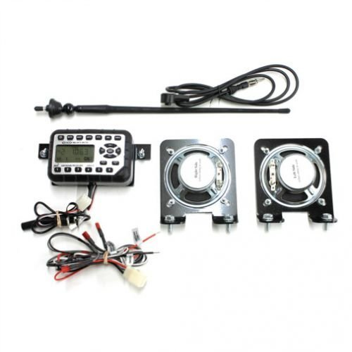 Jensen Mini Heavy-Duty Radio Kit for Skid Steer John Deere 323E 329D 326D 332E 328D 324E 320D 328E 318D 333E 323D 333D 319E 318E 320E 332D 319D 326E 329E by All States Ag Parts