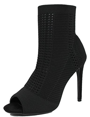 Robbin Womens Knitted Ankle Bootie product image
