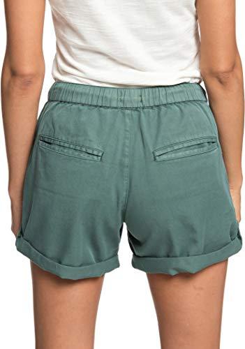 Duck Arecibo Donna Roxy Shorts Green dtqPFgP