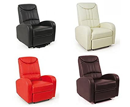 Poltrona relax manuale reclinabile: amazon.it: casa e cucina