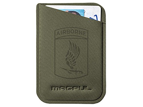 Magpul DAKA Micro Wallet MAG762 ODG Laser Engraved Army 173rd Airborne Division Emblem (Division 173rd Airborne)