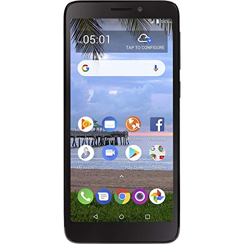Simple Mobile TCL A1 4G LTE Prepaid Smartphone