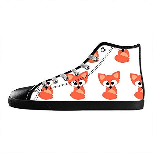 delle Scarpe Custom Shoes I Canvas Scarpe Fox Women's Dalliy da Alto Tetto Lacci Ginnastica Scarpe Rdvqw0R