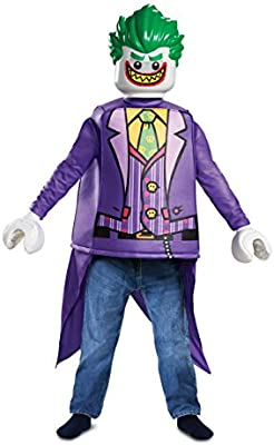 LEGO- Classic Joker Disfraz, Color Morado, Large (Disguise DI66271 ...