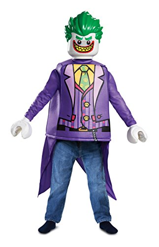 Disguise Joker Classic Child Costume, Purple, Size/(4-6)