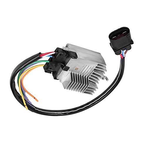 Engine Radiator Cooling Fan Control Module Unit for Au-di A6 All-road Qua-ttro 2007-2011 4F0959501G: