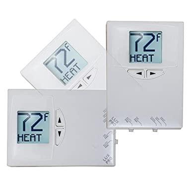 Lux 24 Volt Digital Heat/Cool Thermostat - HVAC - Air Conditioning Refrigeration: Amazon.com: Industrial & Scientific