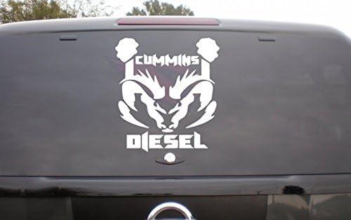 Diesel Girl vinyl decal//sticker  truck diesel country chic