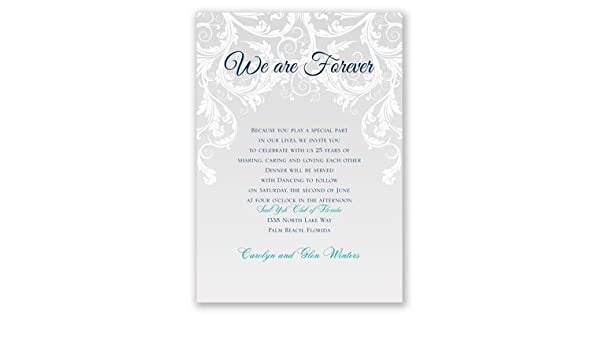 image regarding Free Printable Vow Renewal Invitations named : We Are For good - Vow Renewal Invitation: Health and fitness