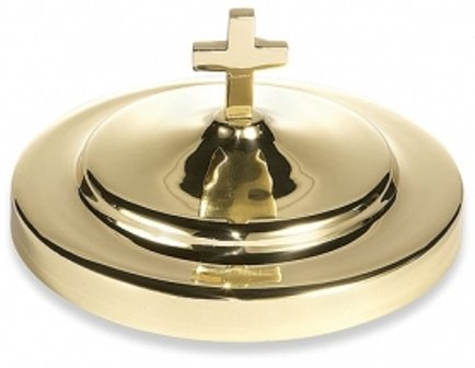 Solid Brass Bread Plate Cover