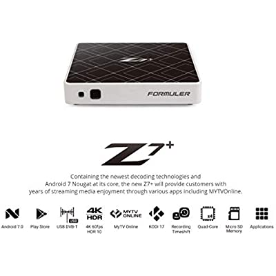 Formuler Z7  Android OTT Box  White