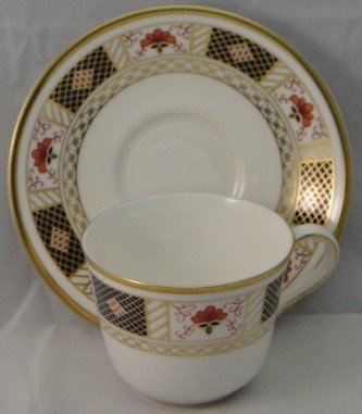 Royal Crown Derby Replacements (Royal Crown Derby Derby Border Cup & Saucer)