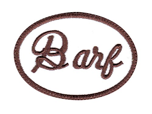 BARF Spaceballs Cosplay Name Tag Sew On Glue Patch -