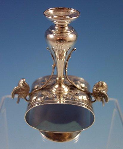Art Silver Braverman and Levy Sterling Silver Bud Vase Birds Napkin Ring #1732 (Vase Silver Sterling Bud)