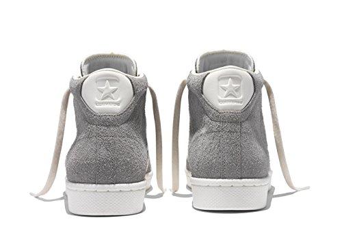 Converse CONS Pro Leather 76 MID Vintage Suede (Grey) Talla 42