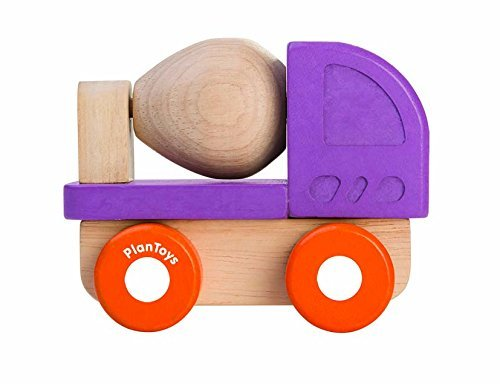 PlanToys 5442 Mini Cement Mixer Toy