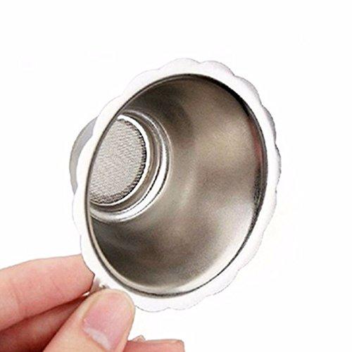 (JD Million shop Stainless Steel Double-layer Fine Mesh Tea Strainer Filter Sieve New XN844)
