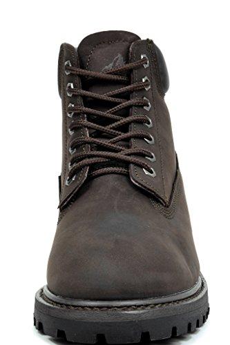 arctiv8 Mens Full-Grain Leather Work Boots Job-brown ntslgSb