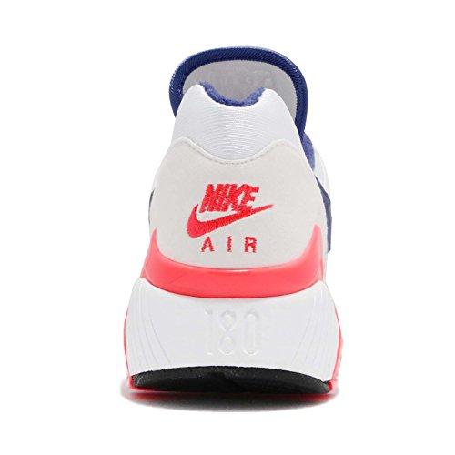 Nike Wmns Air Max 180 - Ah6786100 Bianco-rosso-blu Navy