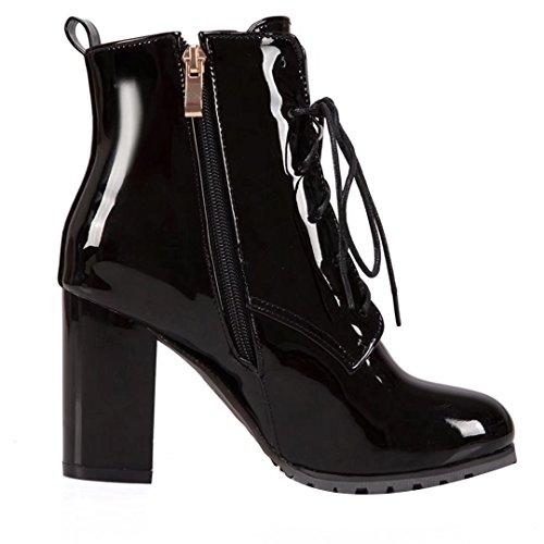 Women's Classic Boot Women's AIYOUMEI AIYOUMEI Black UTEv6qqw