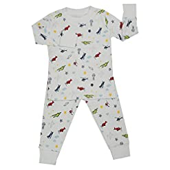 Kissy Kissy Little Boys' Pajamas Year Round Print – Aviators
