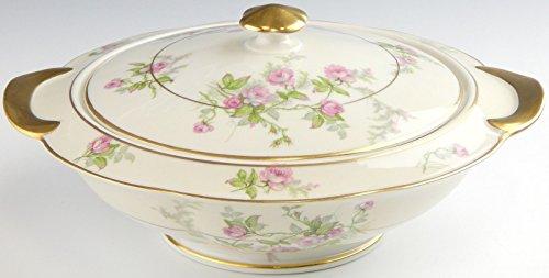 Theodore Haviland France SYLVIA Round Covered Vegetable Bowl - Porcelain Haviland Bowls