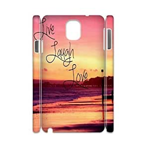 Live Laugh Love DIY 3D Cover Case for Samsung Galaxy Note 3 N9000,personalized phone case ygtg577448