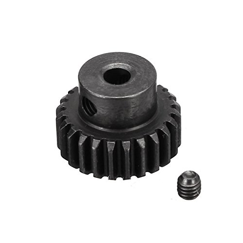 Quickbuying WLtoys k949 24T Upgrade Metal Motor Gear for Electronic Buggies RC SUV Car Parts