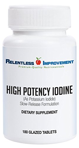 Relentless Improvement Potassium Iodide 180 Tablets