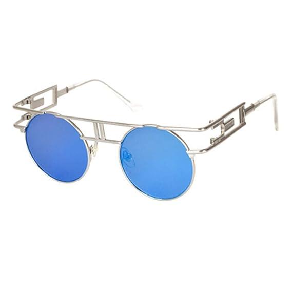 Yying Hombres Mujeres Gafas de sol Gafas Reflectivas Espejo ...