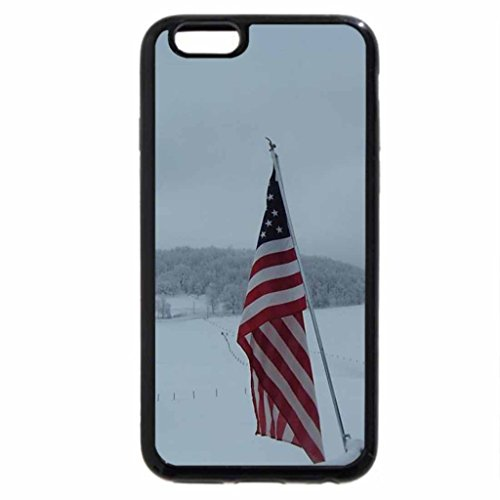 iPhone 6S / iPhone 6 Case (Black) Winter in Mountains of WV