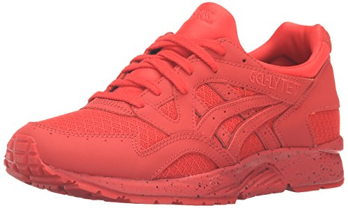 ASICS Men's Gel-Lyte V Fashion Sneaker, Red/Red, 8 M US (Mens Red Sneakers)