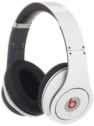 Beats By Dr. Dre Studio White Over-ear Headphones From Mo...