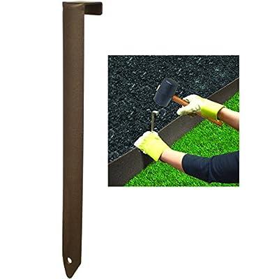 "Rodesign 10"" EZ Border Thinline Spikes 5-Pack Coated Steel Landscape Garden Edging Edge WLM8 MT4000003"