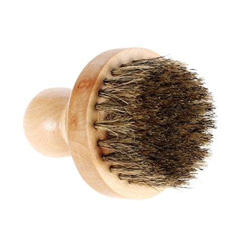Bearded Dragon Costumes For Sale (Wood + Boar Bristle Hair Men's Shaving Brush Round Handle Barber Facial Cleaning Shaving Razor)