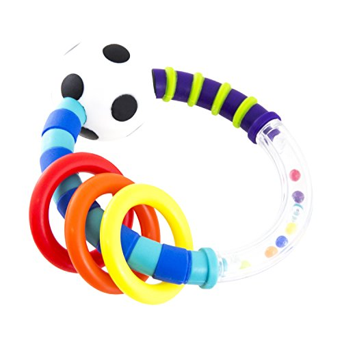 Sassy Rattlin Rings, (Baby Rattle Toys)