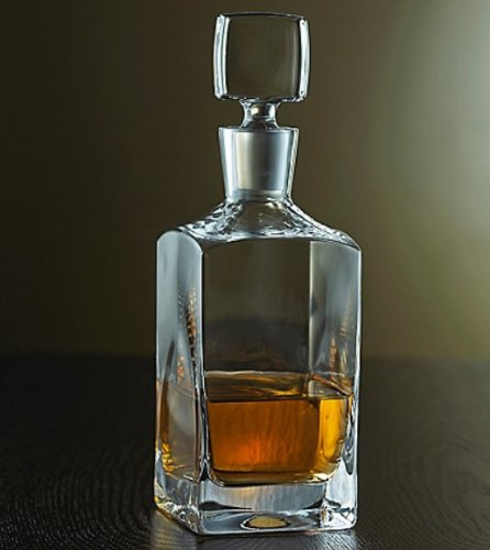 Wine Enthusiast Metropolitan Whiskey Decanter. by Wine Enthusiast