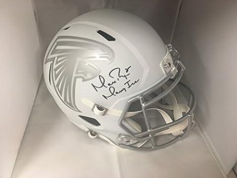 Matt Ryan Autographed Signed Atlanta Falcons Rare ICE Limited Edition Inscirbed Full Size Helmet COA & - Atlanta Falcons Helmet