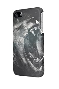 ip50509 Roaring Lion Glossy Case Cover For Iphone 5/5S by ruishername