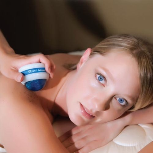 Omni Massage Roller White Color