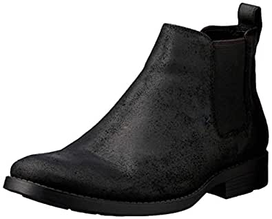 Windsor Smith Men's Palmer Dress Boot, Black, 7 AU