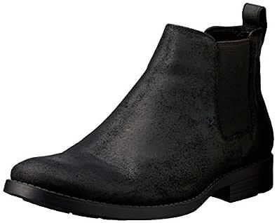 Windsor Smith Men's Palmer Dress Boot, Black, 9.5 AU