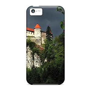 BretPrice Premium Protective Hard Case For Iphone 5c- Nice Design - Grecian Monastary by supermalls