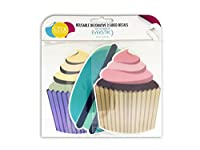UM! Brands USA LD-301 Desserts Decals with EverSTIK