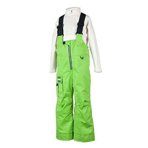 Obermeyer Volt Suspender Boy's Pants Pro Green 5 by Obermeyer