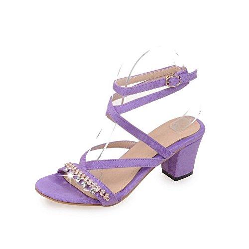 Ouvert Violet 36 BalaMasa Femme Bout 5 EU Violet Uxqg5H