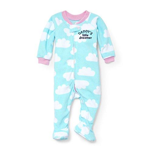 The Children's Place Baby Little Boys' Clouds Blanket Sleeper, Spa Blue 91690, (Boys Blue Sleeper)